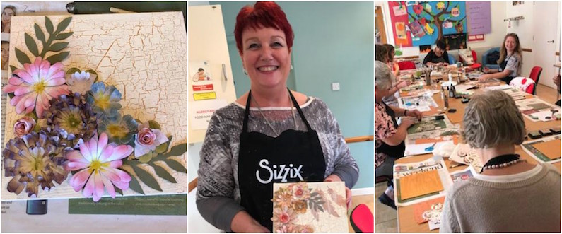 Poppycraft's Mother & Daughter duo host weekly Sizzix workshops!