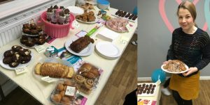 Bake sale success for Nightingale House!
