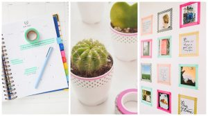 Creative Ways to Use Washi Tape in the Office