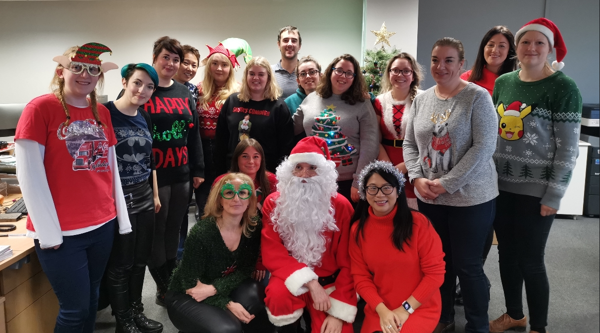 Ellison's Christmas Jumper Day