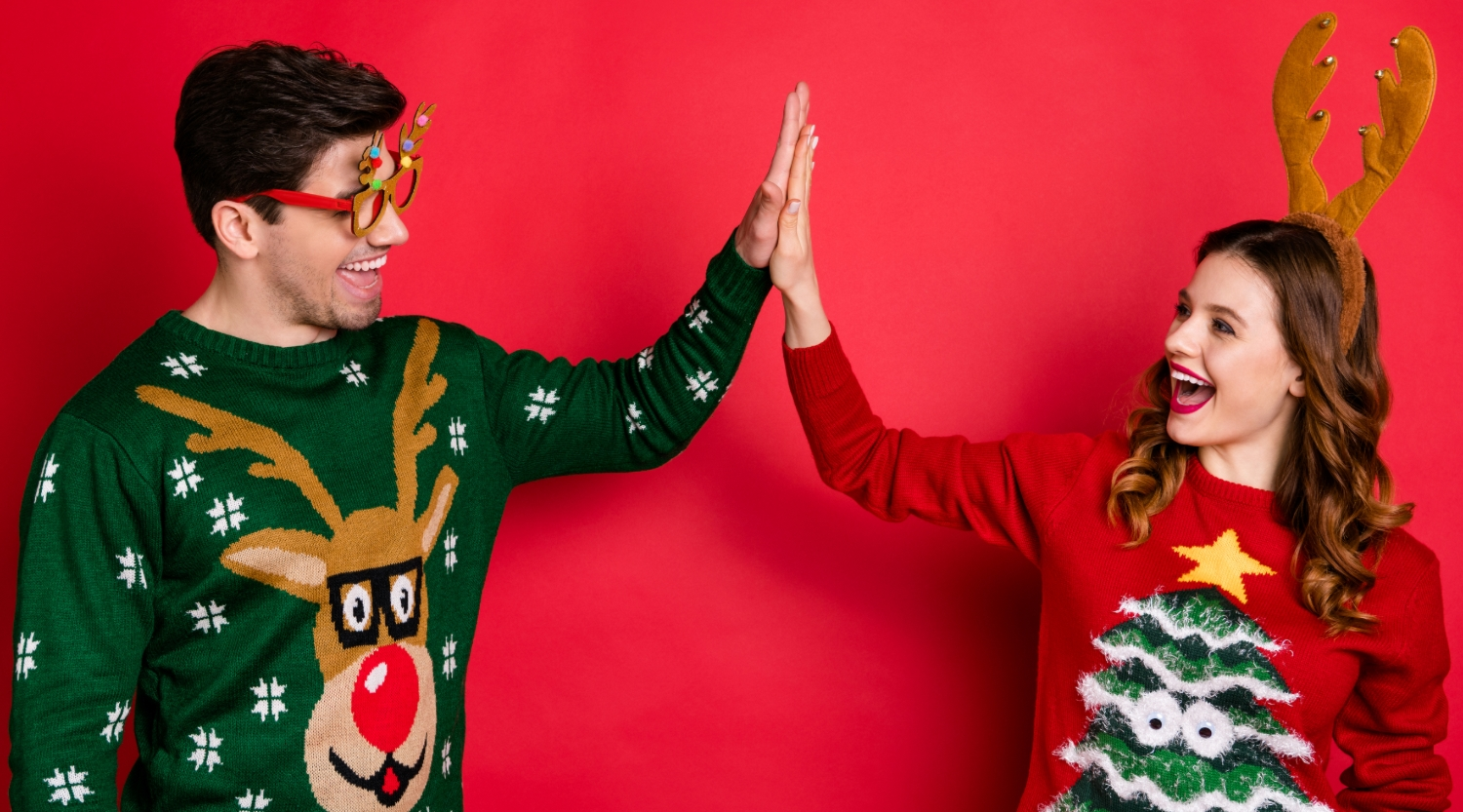 Stand Out from the Crowd on Christmas Jumper Day