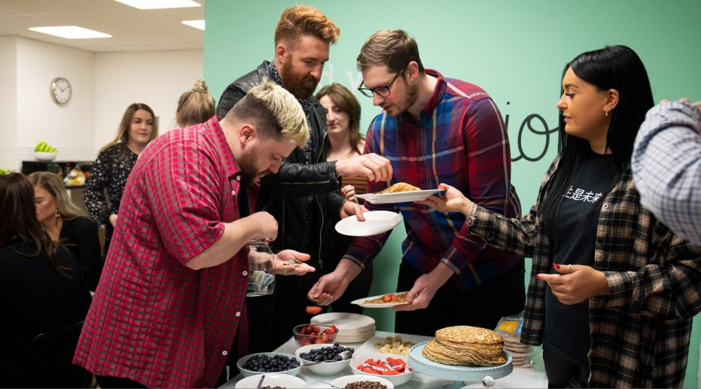 Pancake Day Takes Over the Ellison Office!