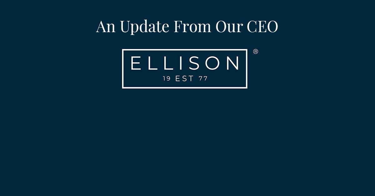 An Update From Our CEO