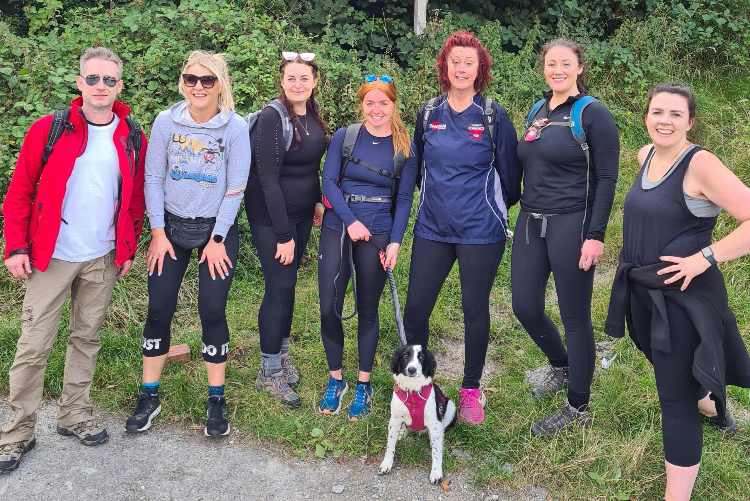 Ellison team raise over £1,700 with 20-mile sponsored walk