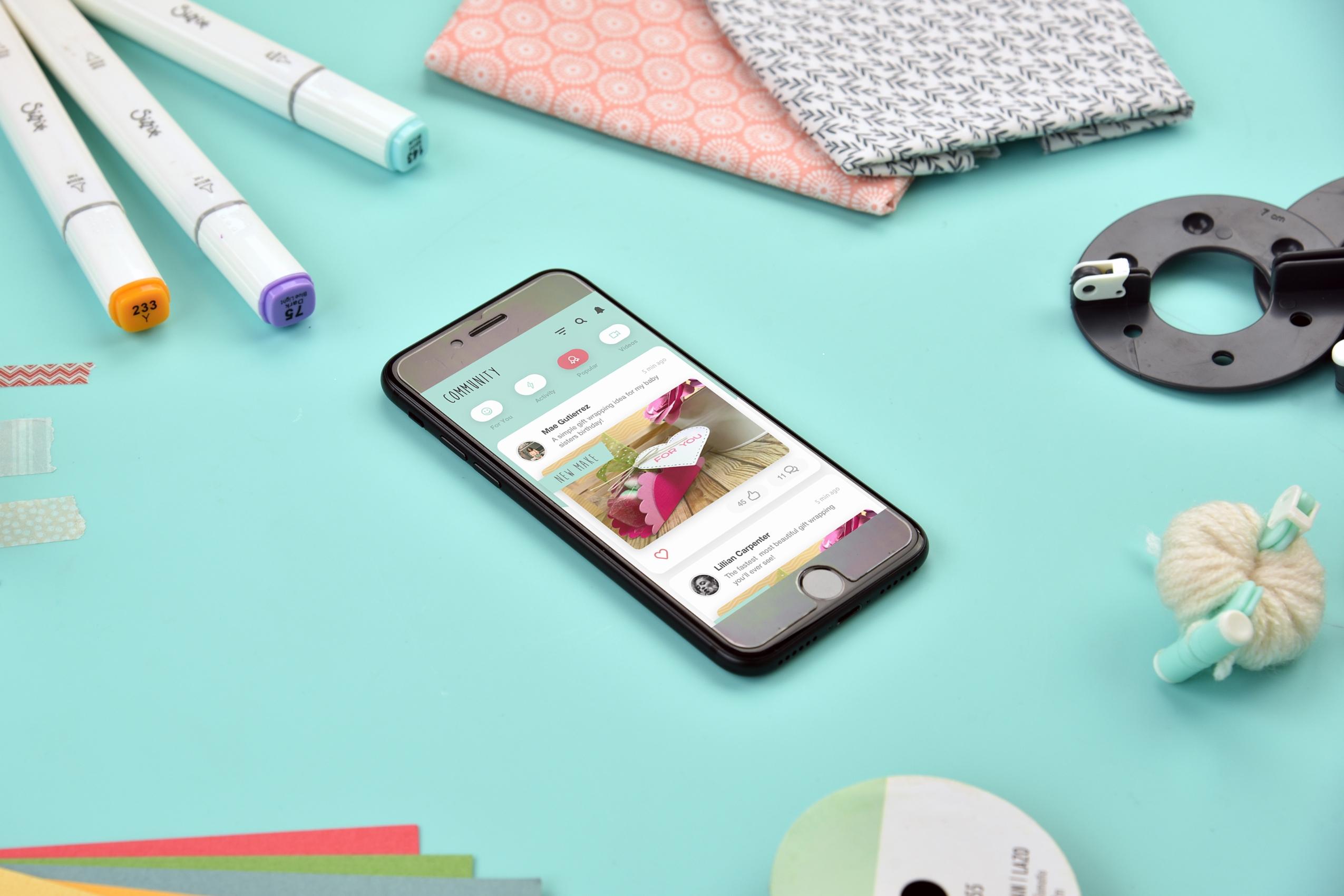 Sizzix app launch