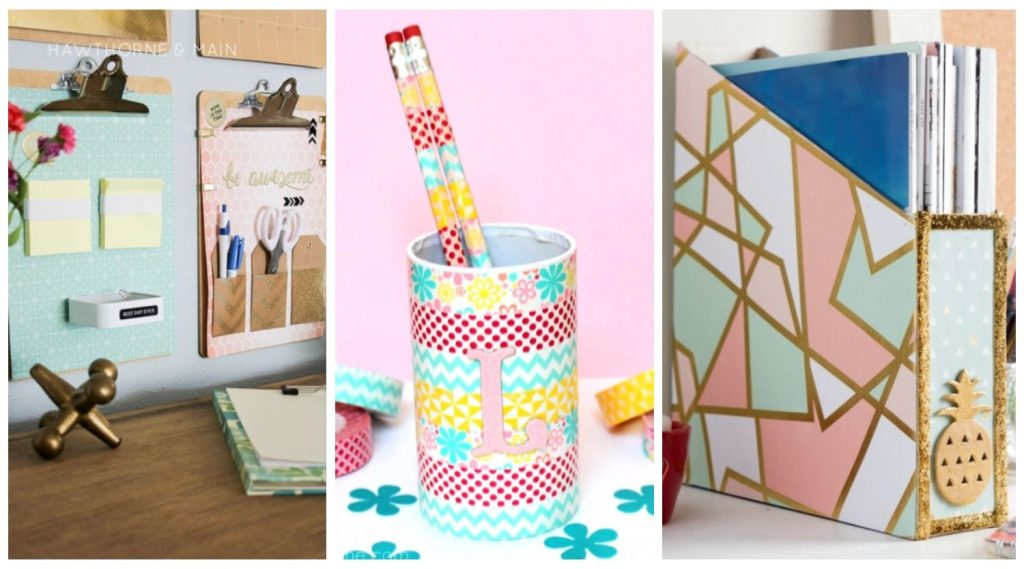 Craft Your Way to an Organised Desk